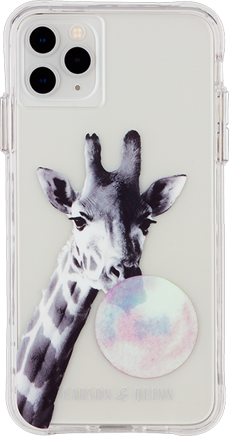 Carson & Quinn Giraffe Blowing Bubble Case - iPhone 11 Pro Max/XS Max